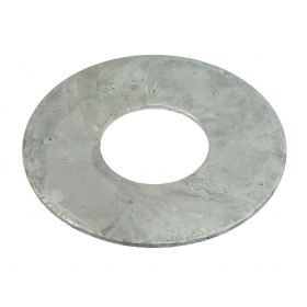 Ground level ring, hot-dip galvanised