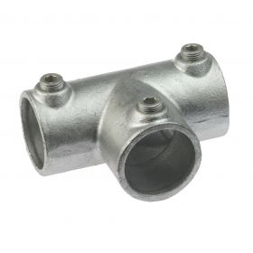 G104 Cast T-clamp (long) A4, hot-dip galvanized