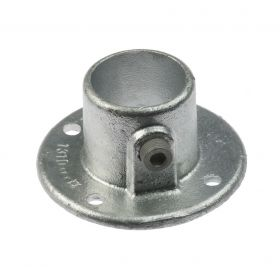 G131 Cast iron wall flange A10, hot-dip galvanised