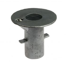 G134 Cast iron ground socket A17, hot-dip galvanised