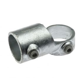 G148 Cast iron short swivel Tee A21, hot-dip galvanised