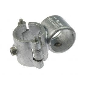 "G137 Cast iron 90° cross-clamp A37, 1"" x 1"", hot-dip galvanised"