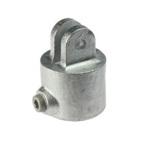 G173F Cast iron female section of swivel A42, hot-dip galvanised