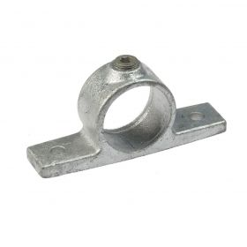 G198 Cast iron double fixing bracket A69, hot-dip galvanised