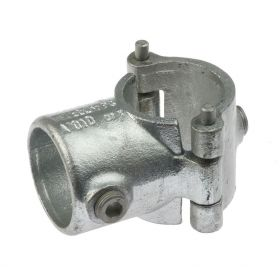 G136 Cast iron clamp-on short Tee A70, hot-dip galvanised