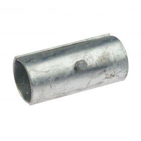 Split tube connector, hot-dip galvanised
