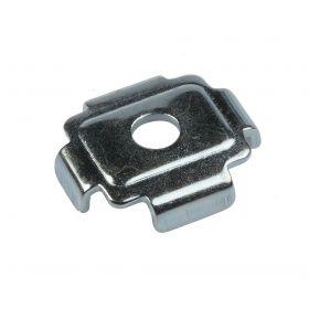 Combi profile holder 36 + 41, zinc plated
