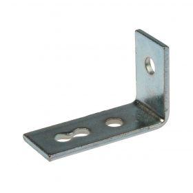 Angle-L 41 90°, 3-hole, zinc plated