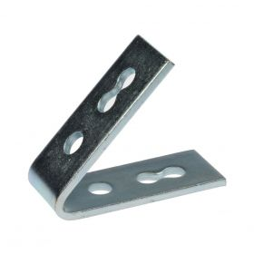 Angle 41 45°, 4-hole, zinc plated