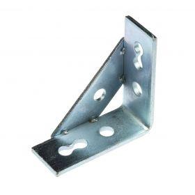 Knot triangle 41 90° 4-hole ø 13,0 mm zinc plated