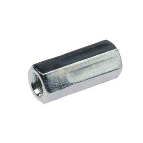 Hexagon Connection Nut, zinc plated