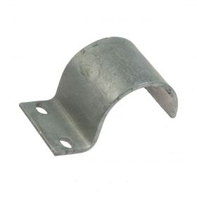 Crossover One Lip Clamp, hot-dip galvanised