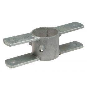 """Ring pipe clamp rotation part, 2 x 2"""", hot-dip galvanised"""