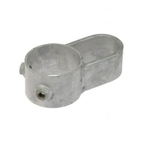 Locking device for isolating grid hot-dip galvanised