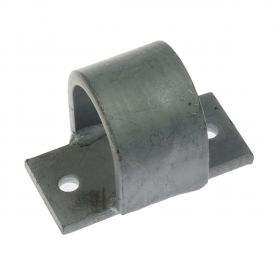 Small locking device for isolating grid, hot-dip galvanised