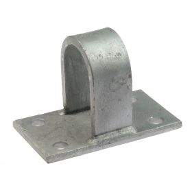 Large locking for shear-off grid hot-dip galvanised