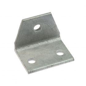 Corner piece 63 x 63 x 80 mm, hot-dip galvanised