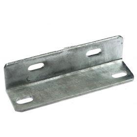 Corner piece 63 x 63 x 225 mm, hot-dip galvanised